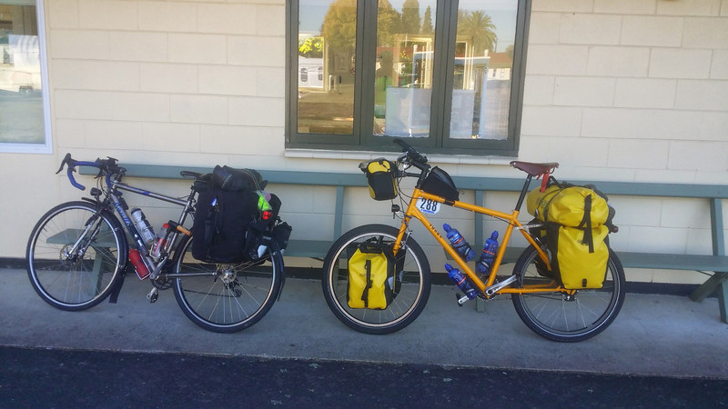 Day 3 Leaving Cambridge for Te Kuiti (and it was my birthday!)