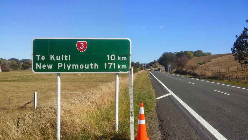 Day 3 Te Kuiti 10km to go!