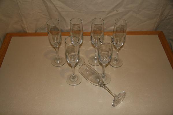Stolzle Sparkling Wine Glasses (Lg)