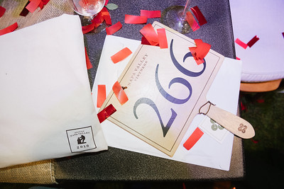 The confetti says it all. Congratulations to another great year!   Photo by Bob McClenahan for the Napa Valley Vintners