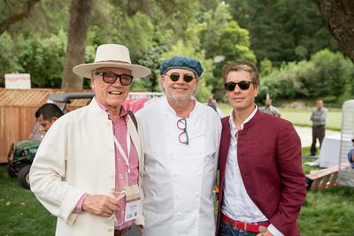 Agustin Huneeus, Chef Francis Mallmann and Auction Chair Agustin Huneeus Jr. | Briana Marie Photography for Napa Valley Vintners