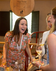 Visa Versa brings some great bids during the barrel auction. Briana Marie Photography for Napa Valley Vintners