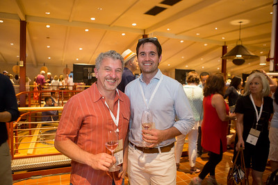 Napa Valley Reserve and Bond Wine Maker join the barrel auction.  Briana Marie Photography for Napa Valley Vintners