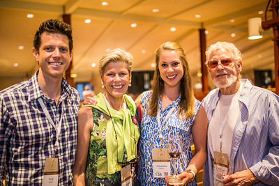 Family photo of the Harlan family Photo by Jon McPherson for Napa Valley Vintners