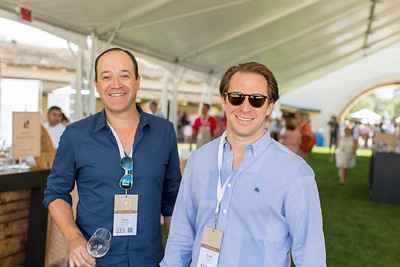 Vintners enjoying the Barrel Auction.  Briana Marie Photography for Napa Valley Vintners