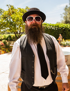 A guest checking in  Photo by Jon McPherson for Napa Valley Vintners