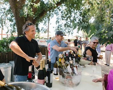 Joel Gott pouring at the Napa Valley Vintner Kick-off Celebration!  Briana Marie Photography for Napa Valley Vintners