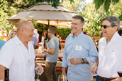 Vintners sharing the joy of Auction Napa Valley.  Auction Napa Valley Vintner Kick-off Celebration.  Briana Marie Photography for Napa Valley Vintners