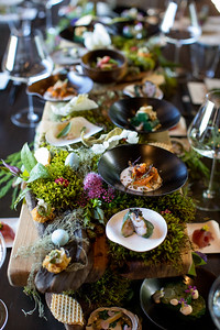 Exquisite tablescape by Singlethread Farms   Briana Marie Photography for Napa Valley Vintners   www.brianamarie.com