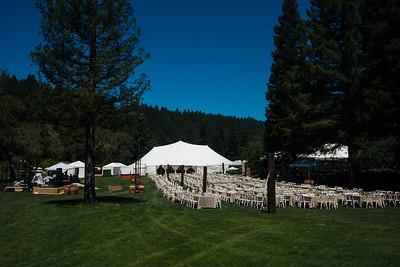 The beautiful setup at Meadowood Napa Valley - Auction Napa Valley Live Celebration