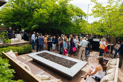 Napa Valley Vintners members gather at the 2018 Auction Napa Valley Many Bottle Kick-Off Celebration.  Photo by Alexander Rubin for Napa Valley Vintners