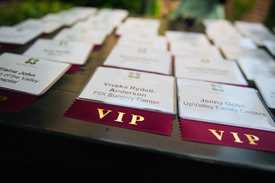 Celebrating our VIP Non-Profit Guests at the 2018 Auction Napa Valley Many Bottle Vintner Kick-Off Celebration.  Photo by Alexander Rubin for Napa Valley Vintners