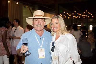 Marc Mondavi enjoy the Auction Napa Valley Barrel Auciton