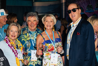 Shari and Garen Staglin of Staglin Family Vineyard with guests at the 2019 Live Auction Celebration
