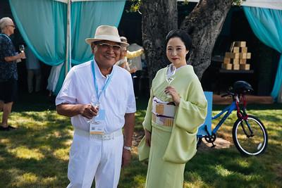 Kenzo Tsujimoto of Kenzo Estate at the 2019 Live Auction Celebration