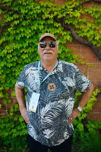 Past Napa Valley Vintners Board Chair Michael Martini at the 2019 Napa Valley Barrel Auction