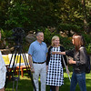Auction honorary co-chairs, David and Kary Duncan, are interviewed by Tim Clott and Noel Resnick of Partners2Media.