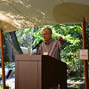 NVV Board Chairman Russ Weis welcomes attendees at the vintner kickoff party.