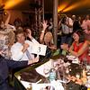 Mary Miner celebrates her winning bid for the Antica Napa Valley - Antinori Family Wine Estate's auction lot. Photo © 2009 Jason Tinacci