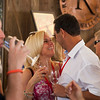 """Guests share a playful moment at the Barrel Auction. Photo by <a href=""""http://www.tinacciphoto.com"""" target=""""_blank"""">Jason Tinacci</a> for the Napa Valley Vintners."""