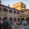 "The Silverado Pickups perform at the kick-off party at Castello di Amorosa.  Photo by <a href=""http://napasphotographer.com/"">Bob McClenahan</a> for Napa Valley Vintners."