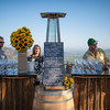 """The wine lineup at the Pritchard Hill vintners party.  Photo by <a href=""""http://napasphotographer.com/"""">Bob McClenahan</a> for Napa Valley Vintners."""