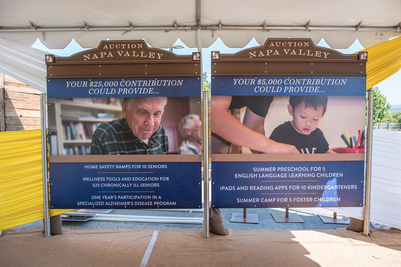 """Some examples of how the proceeds of Auction Napa Valley are helping the Napa community. <br> <br> Photo by <a href=""""http://napasphotographer.com/"""">Bob McClenahan</a>"""