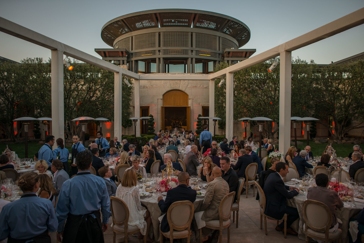 """Opus One hosted the Top Bidder Dinner. <br> <br> Photo by <a href=""""http://napasphotographer.com/"""">Bob McClenahan</a>"""