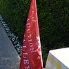 Red Auction Napa Valley flags will soon adorn St. Helena's Main Street.