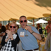 "Kary and David Duncan getting ""Happy"" at the vintner kickoff party."
