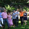 "Vintners doing the ""Happy"" dance at the Auction Napa Valley kickoff party."