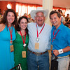"Alpha Omega's Michelle and Robin Baggett with guests at the Live Auction. Photo by <a href=""http://www.tinacciphoto.com"" target=""_blank"">Jason Tinacci</a> for the Napa Valley Vintners."