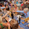 """Vintners toasting to a great start of the Live Auction. Photo by <a href=""""http://www.tinacciphoto.com"""" target=""""_blank"""">Jason Tinacci</a> for the Napa Valley Vintners."""