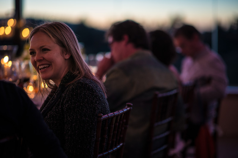 """Guests having fun at Vineyard 7&8 dinner party.  Photo by <a href=""""http://napasphotographer.com/"""">Bob McClenahan</a> for Napa Valley Vintners."""