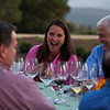 """Lively conversation in between dinner courses. Photo by <a href=""""http://www.tinacciphoto.com"""" target=""""_blank"""">Jason Tinacci</a> for the Napa Valley Vintners."""