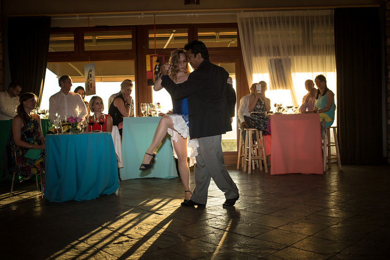"Tango dancers entertain the guests at Viader.  Photo by <a href=""http://napasphotographer.com/"">Bob McClenahan</a> for Napa Valley Vintners."