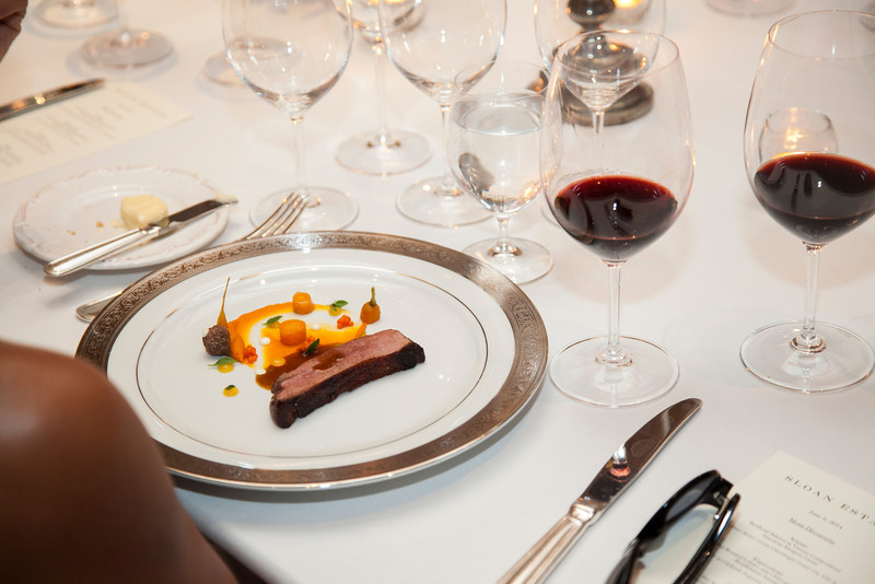 "One of chef Voon's culinary creations and Napa Valley wine - a perfect pairing. Photo by <a href=""http://www.tinacciphoto.com"" target=""_blank"">Jason Tinacci</a> for the Napa Valley Vintners."