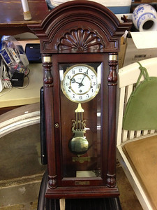 More items coming in for the sale. Howard Miller Wall Clock
