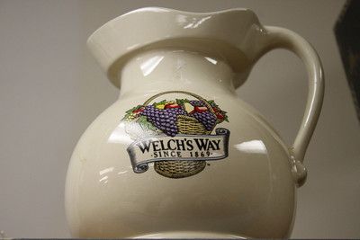Welch's Way grap juice pitcher