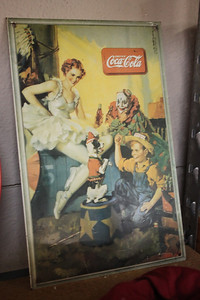 Metal Coca-Cola Sign