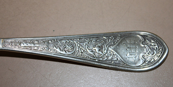 Raphael Handle Detail (Monogram)