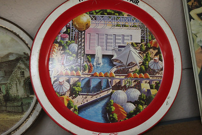 World's Fair Coca-Cola Tray