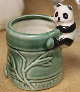 Panda Ceramic Toothpick Holder