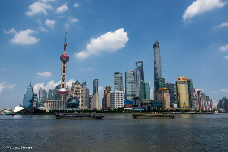 Skyline, Shanghai, China