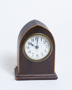 Wood Cathedral Clock