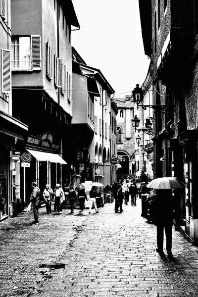 Bologna in Rain