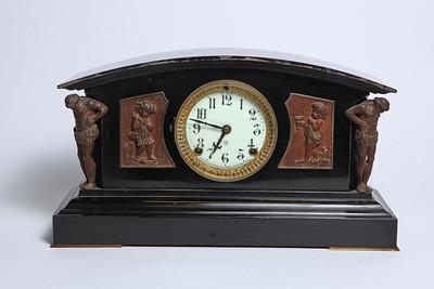 Brass Mantle Clock