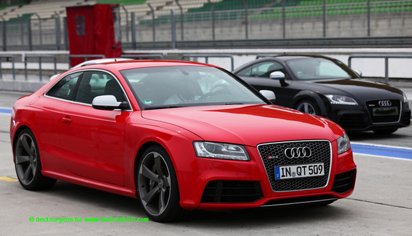 Audi Driving Experience with the RS5 at Sepang Circuit (Aug 2010)