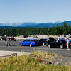 Panorama of our lunch stop at McClellan Overlook.