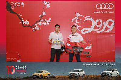 Audi Vietnam - Year End Party Photobooth in Saigon - Chụp ảnh in hình lấy liền Tiệc tất niên tại TP. HCM
